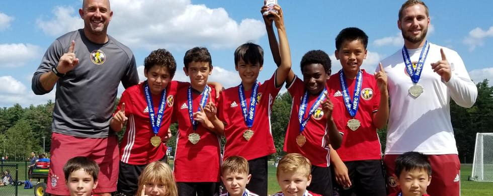 SFC U12 Academy NEFC August 2017
